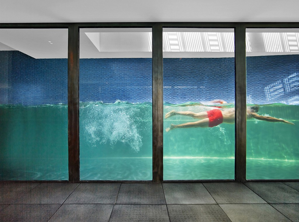 Diamond Spas glass wall art