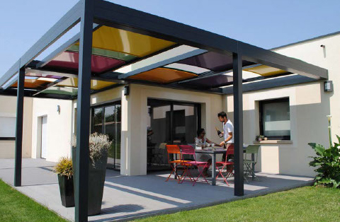 Modular Shade System from BioClimatic Structures