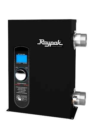 Raypak Releases New Electric Pool/Spa Heater