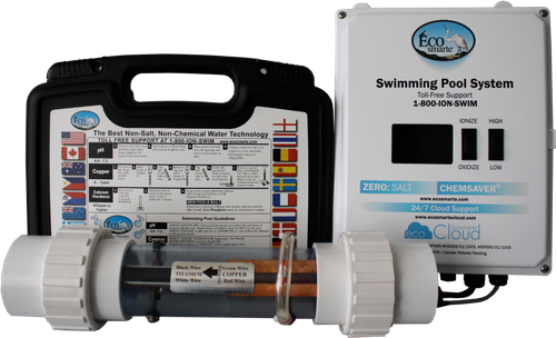 EcoSmarte Offers Sanitizing System for Large Pools