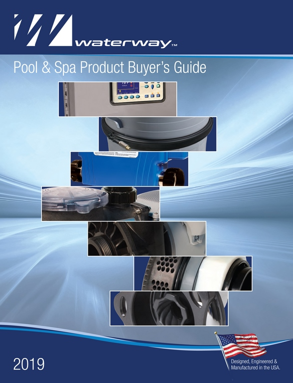 Waterway Publishes 2019 Pool/Spa Product Catalog