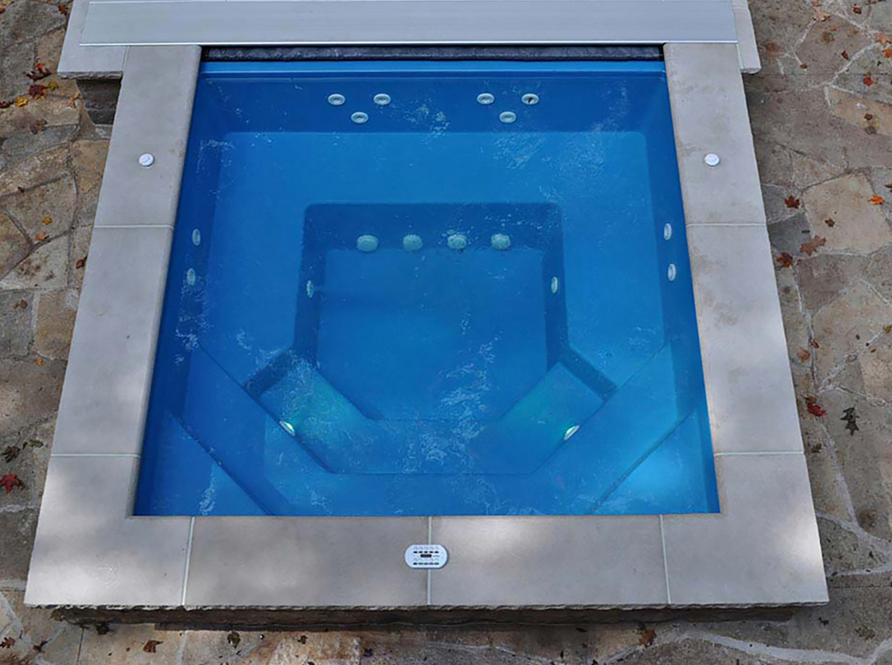Thursday Pools' New Fiberglass Spas
