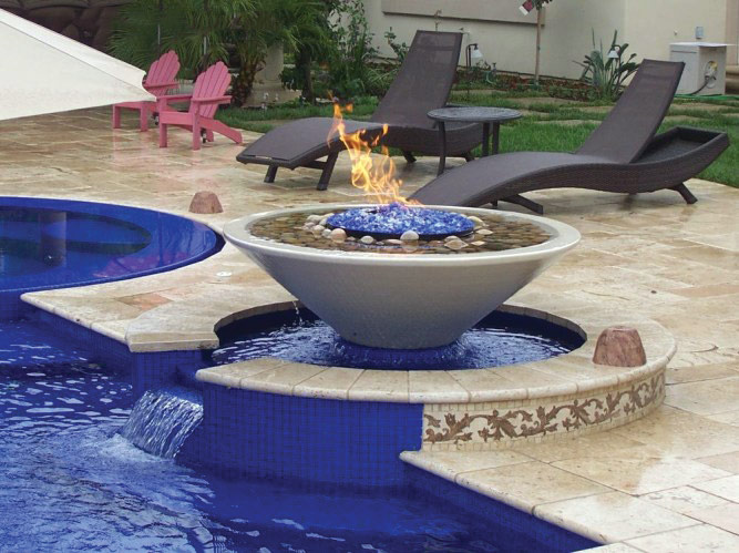 Fire & Water Bowls from Grand Effects