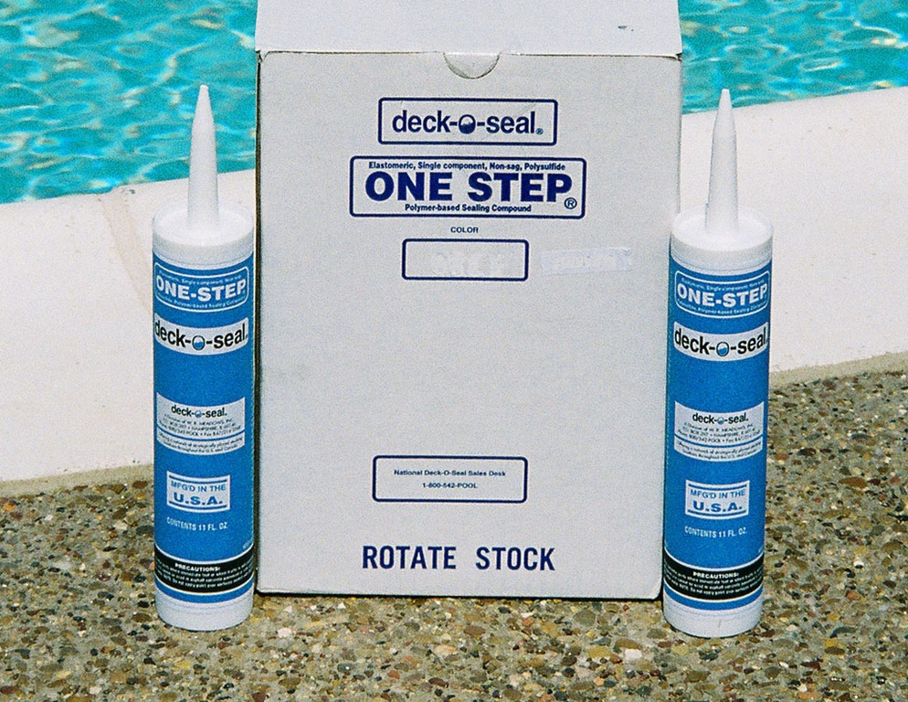 Deck-O-Seal Offers One-Step Caulk