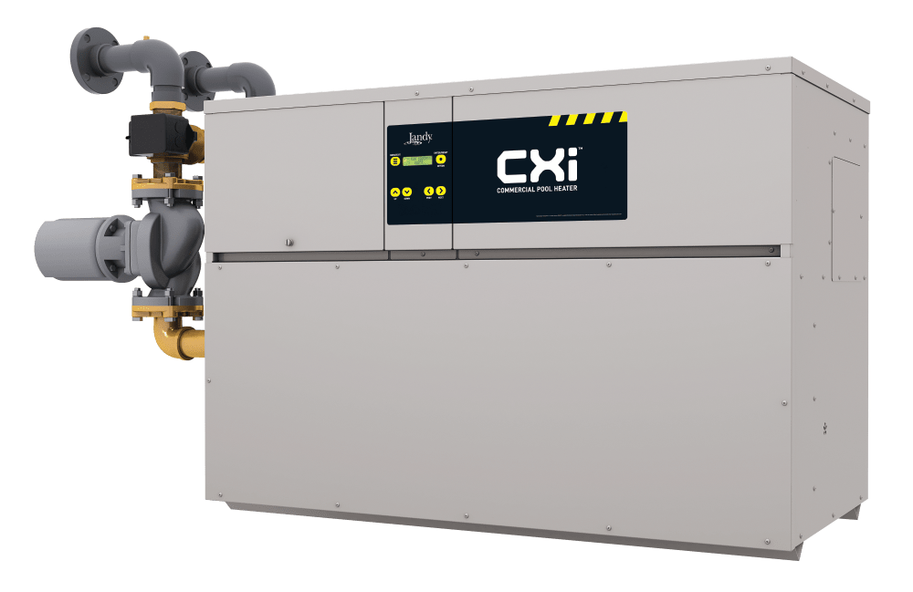 Jandy Offers the CXi Commercial Pool Heater