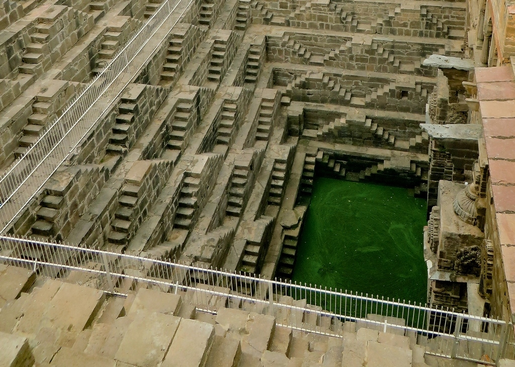 PHOTO OF CHAND BAORI COURTESY VICTORIA LAUTMAN, LOS ANGELES