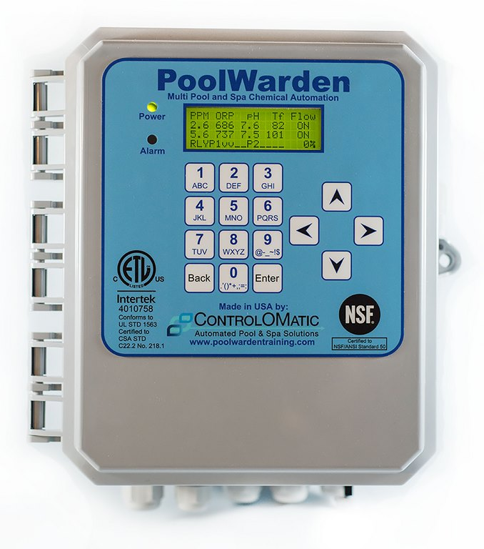 ControlOMatic Offers PoolWarden Controller