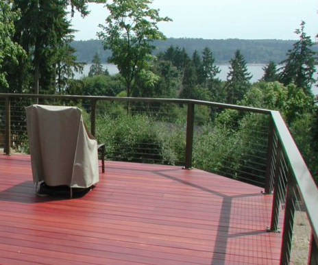 TigerDeck Offers Hardwood Decking