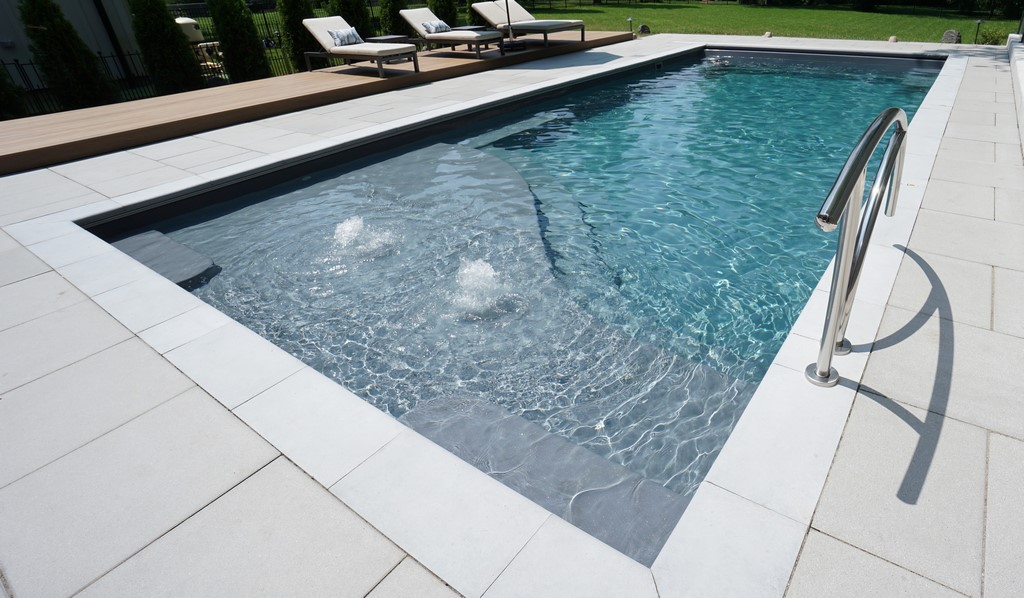Small Fiberglass Pools from Thursday Pools