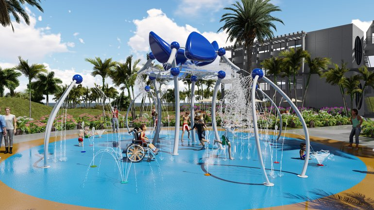 Pre-Designed Splash Pads from Water Odyssey