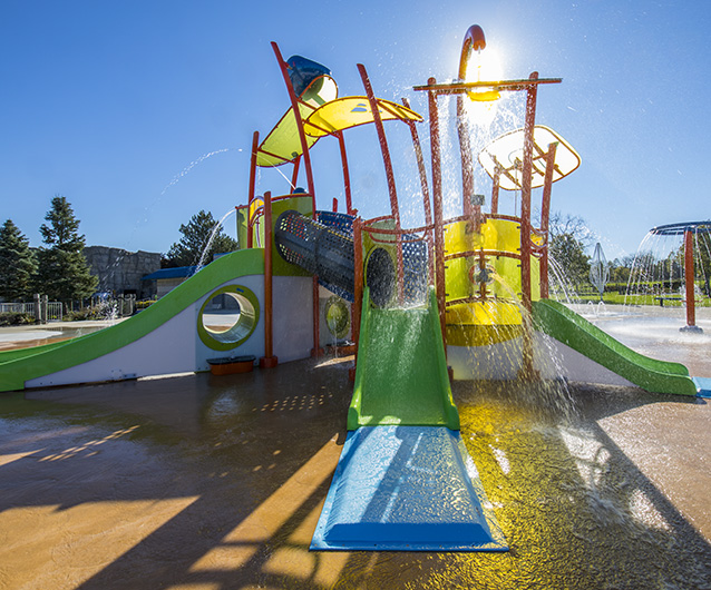 Landscape Structures Offers Water-Play Platforms