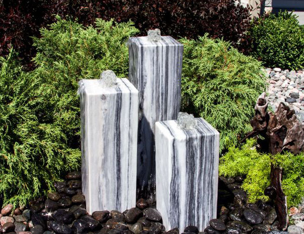 White/Gray Fountains from Blue Thumb