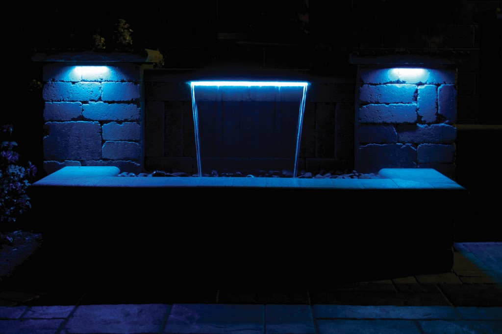 AWG hardscape light art