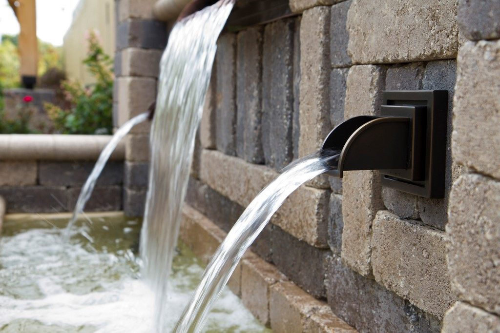 atlantic water gardens introduces new wall spouts
