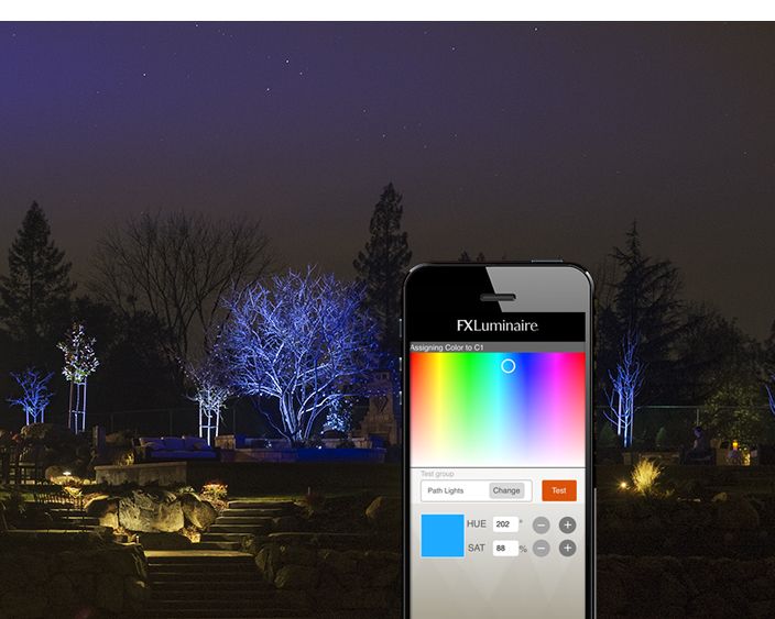 Fx luminaire releases led lighting controller outdoor living fx luminaire controller art mozeypictures Images