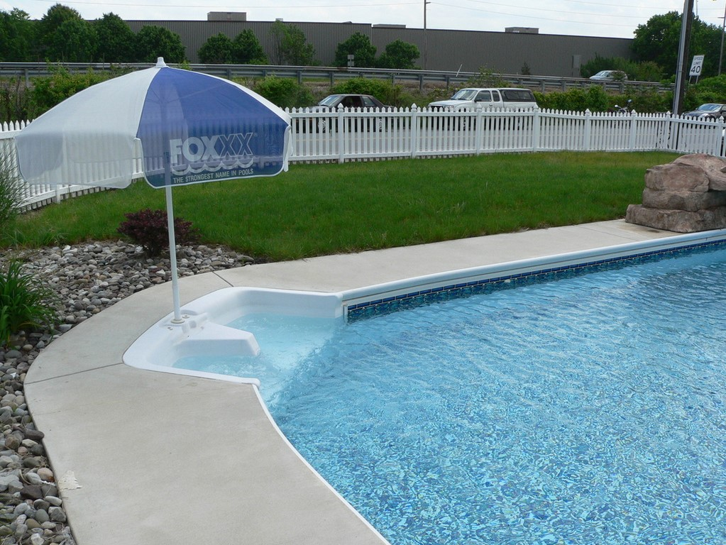 Fox Pool Adds In Pool Benches Pool Spa Systems