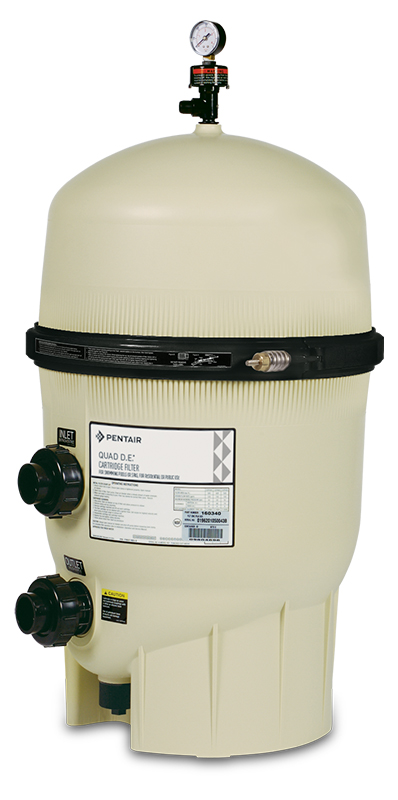 Combined D.E./Cartridge Filter from Pentair
