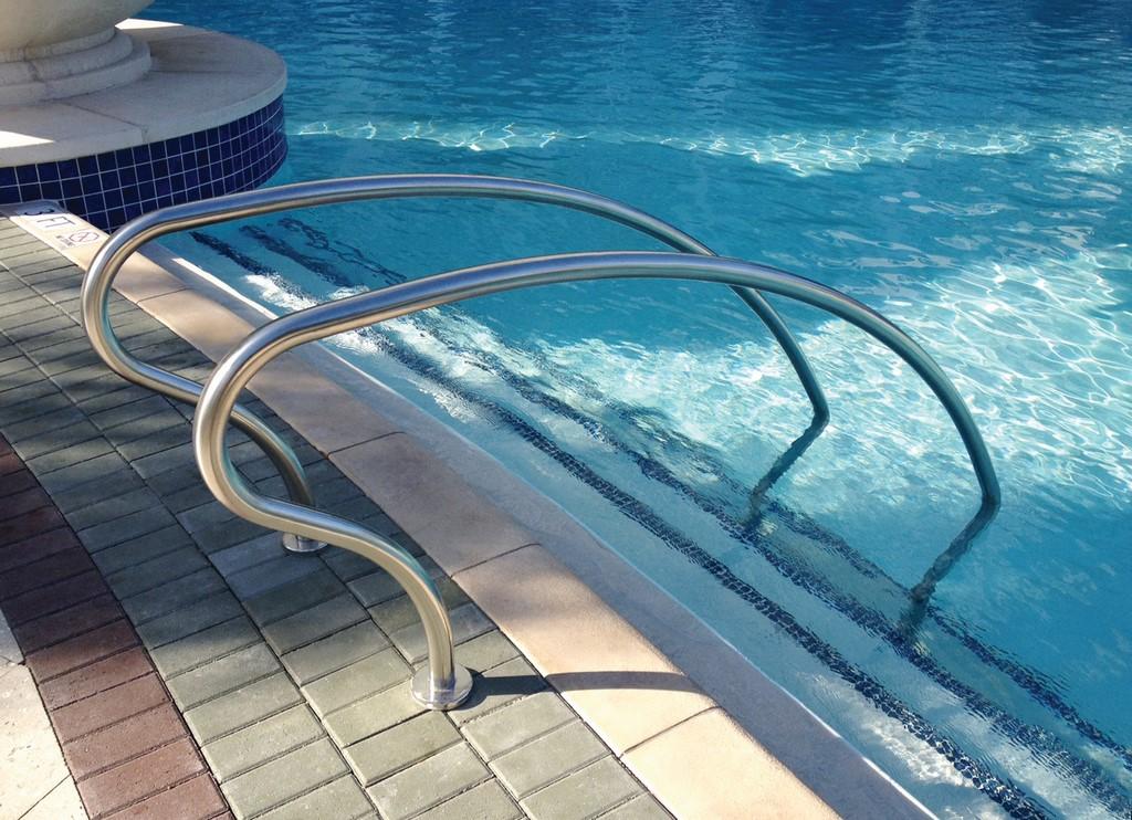 Custom Railings From Pentair Commercial Aquatics Pool