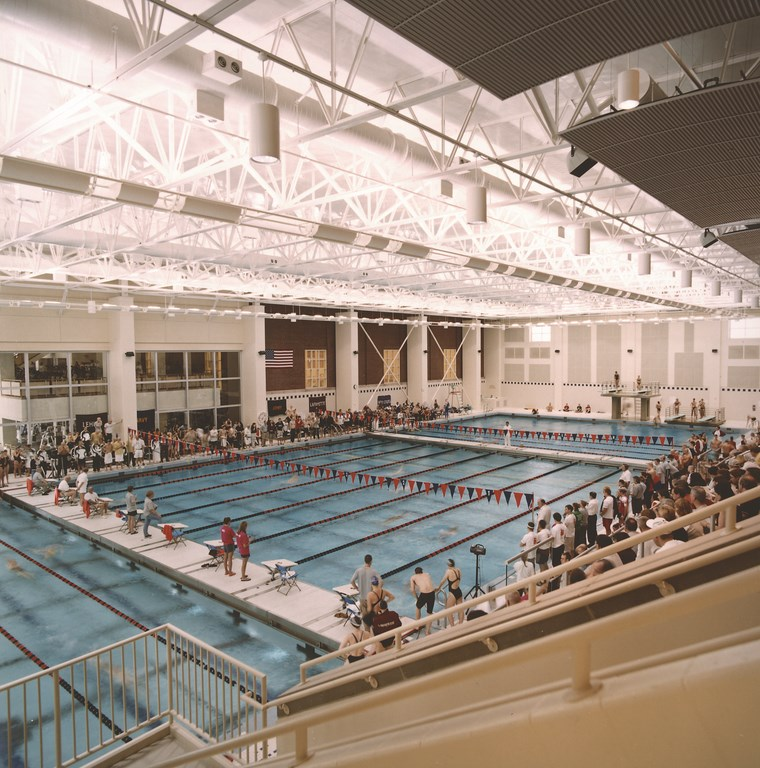 Where the bison swim pools spas watershapes - Bucknell university swimming pool ...