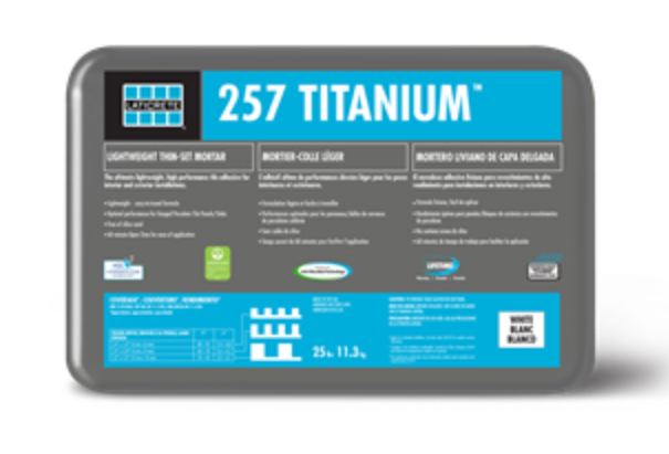Laticrete Introduces 257 Titanium Mortar