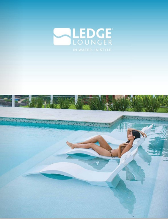 ledge lounger catalog art