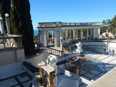 After sizing up the situation with the Neptune Pool at Hearst Castle, William Rowley took the next step and developed an engineering plan to aid in restoring the plumbing system, structure and overall functionality of one of the world's most recognized and celebrated watering holes.