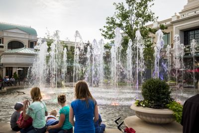 The Station Park show fountain in Farmington, Utah, uses technology to attract and delight consumers in a competitive retail environment. With its cast of programmable effects choreographed to popular music, says Chris Thomas, it's brought a certain theatrical flair to the setting.