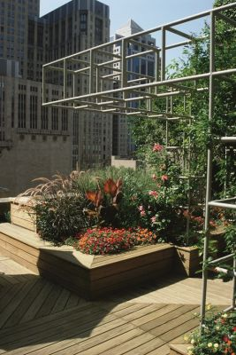 The design and installation of rooftop gardens pose unique challenges to both designer and installer – issues best addressed, declares Rosalind Reed, by careful site evaluation and application of a few simple governing principles.