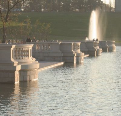 Working on historic fountains is a specialty that calls for sensitivity to the original designers' intentions as well as a capacity to integrate modern ideas, say Kerry Friedman of Hydro Dramatics and fountain consultant Mike Perkowski.  As cases in point, they report here on projects for two facilities in St. Louis' Forest Park – the restoration and augmentation of large fountains in the Grand Basin and the addition of a small pool and jets in the Jewel Box.