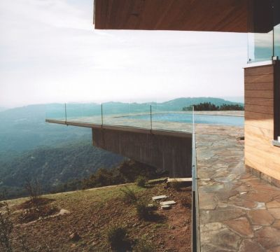There is no way to describe this home other than as 'art,' says watershaper Steve Dallons.  It was a mountain of a project that demanded every bit of skill and craft he and everyone else who worked on site could muster, but the opportunity to work on a world-class project designed by a renowned architect made everything worthwhile, even enjoyable.  And the proof of the achievement is in the photographs, as these pages amply demonstrate.