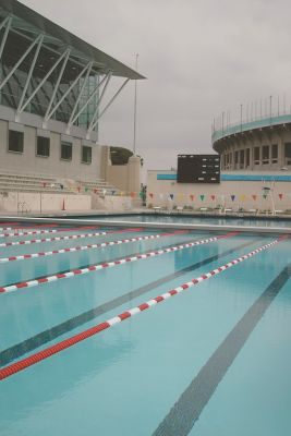 The swimming pools of the 1932 Olympics stand adjacent to the Los Angeles Memorial Coliseum as enduring reminders of the city's history as one of the world's sports capitals.  After decades of use as a competitive venue and community recreation center, however, the facility had fallen into a state of disrepair – a condition from which a consortium of civic groups rescued it with the help of the designers and engineers at Rowley International.