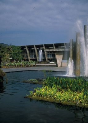 When it comes to identifying those who've shaped his life and work, acclaimed landscape architect Raymond Jungles doesn't hesitate in naming Brazilian designer Roberto Burle Marx as a singularly profound influence.  Famous for bold arrangements of plant materials and architectural forms, Burle Marx's gardens are among the world's most celebrated and studied – a legacy Jungles describes here as a close friend and student of the master.