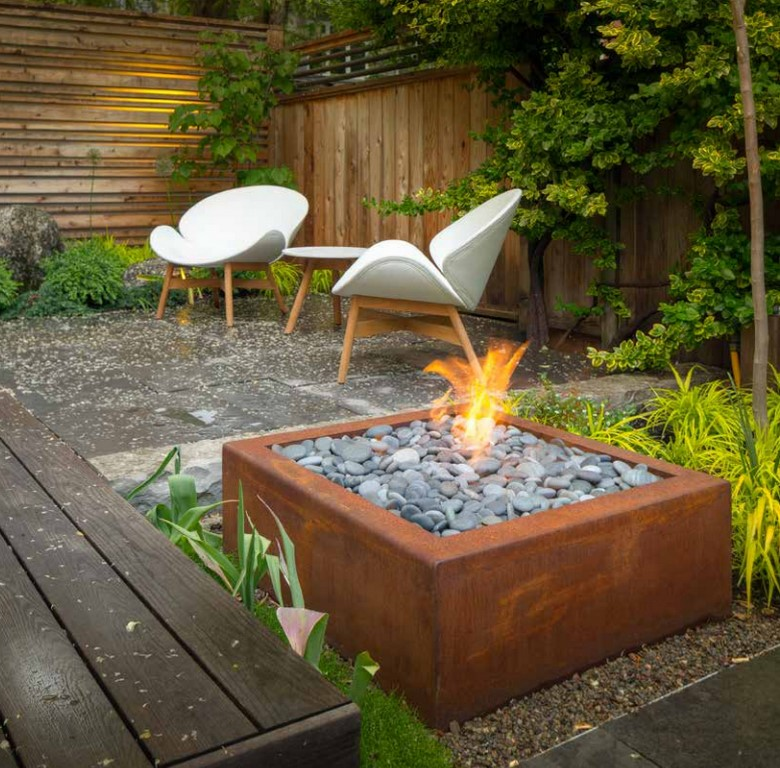 Caldera Outdoor Fire Pits from Paloform