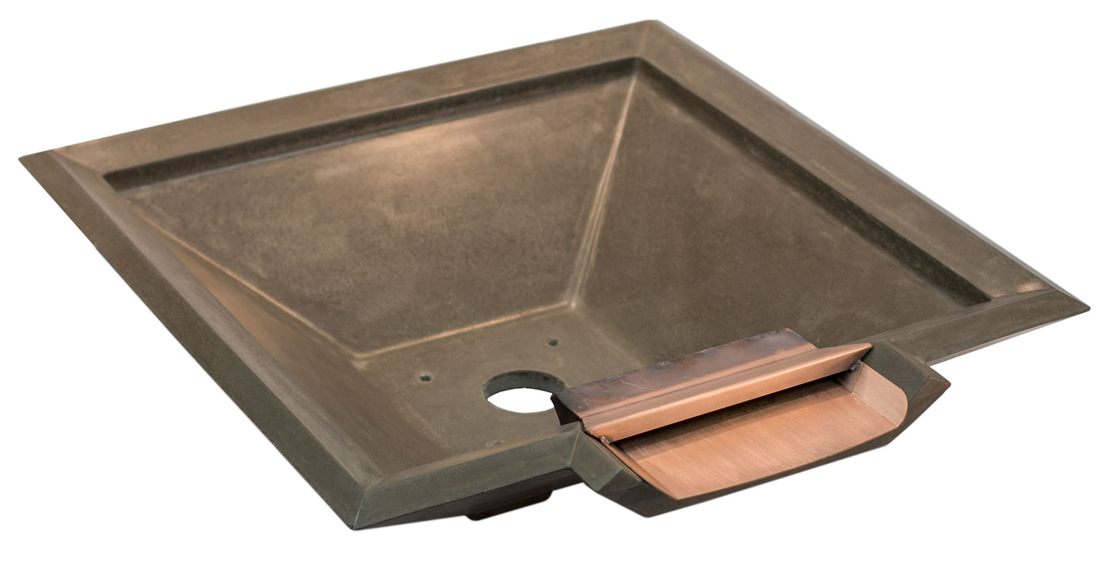 pebbletec concrete bowl