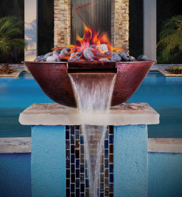 Pebble Technology Introduces Water Fire Bowls Outdoor