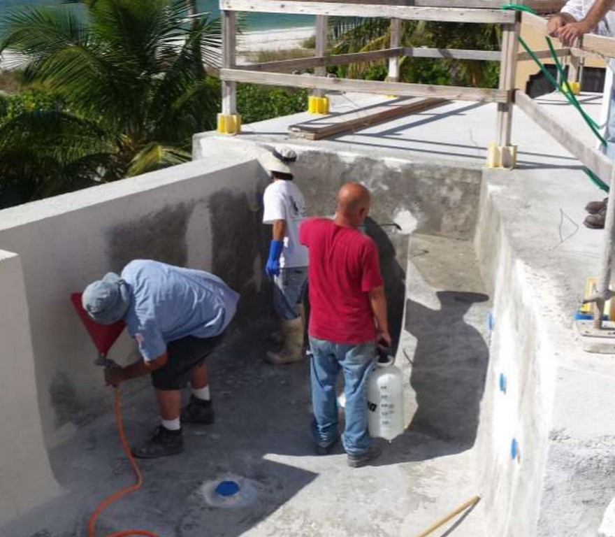 Valcon Offers Flexcrete Waterproofing System