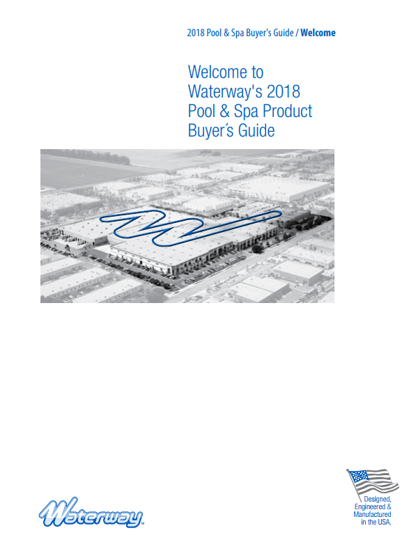 Waterway Releases 2018 Product Catalog
