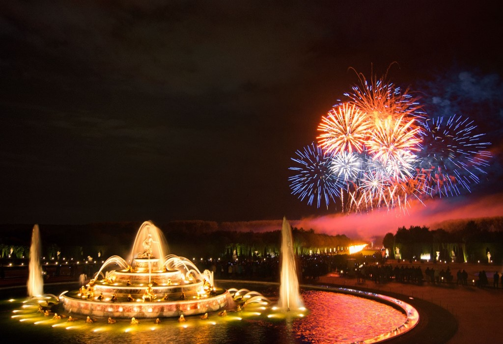 The fountains of Versailles now take their rightful place in the City of Lights.