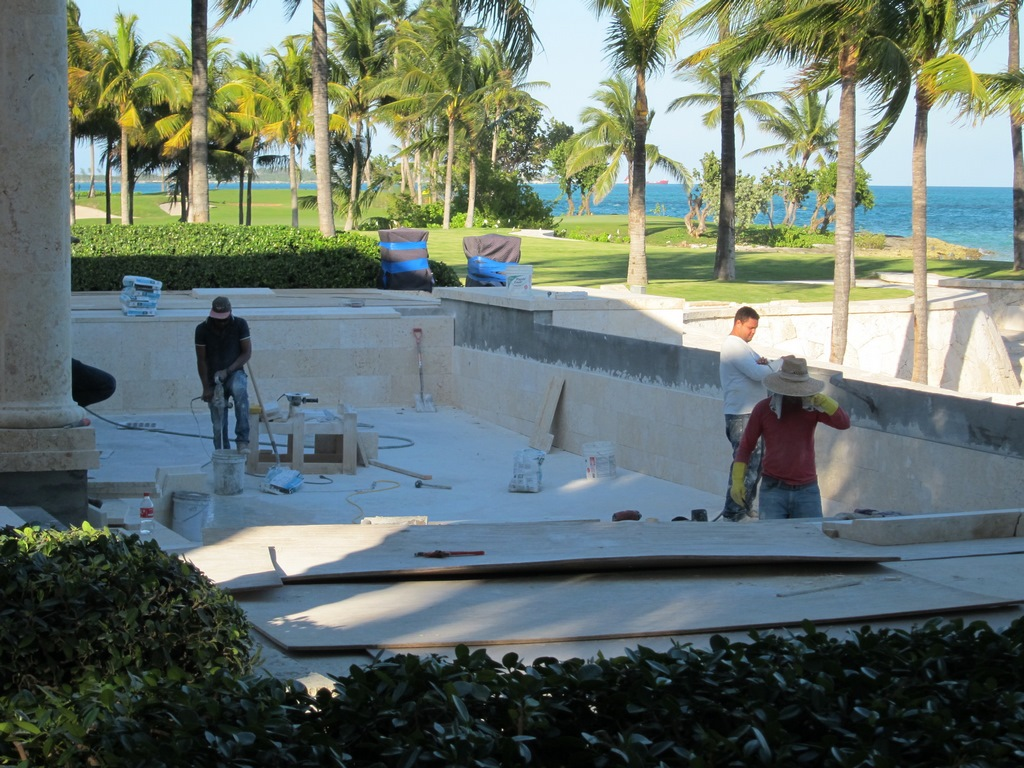 Pool Renovation Bahamas