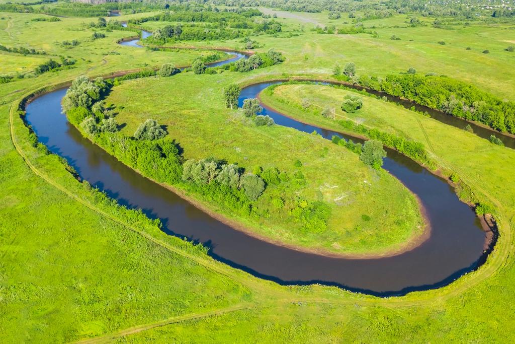 River meander